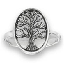 Tree of Life Ring STERLING SILVER SIZES 5-10 #18165v3