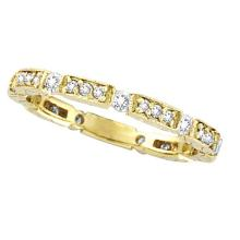 Diamond Anniversary Band 14k Yellow Gold by Allurez (0.50 ctw) #21311v3