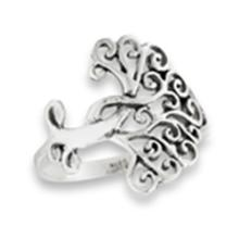 Tree Of Life Ring STERLING SILVER SIZES 5-10 #18160v3