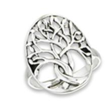 Tree Of Life Ring STERLING SILVER SIZES 5-10 #18162v3