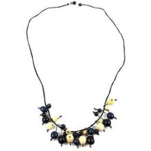 Cloud Forest Necklace in Midnight - Faire Collection #87714v2