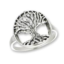 Tree Of Life Ring STERLING SILVER SIZES 5-10 #18161v3