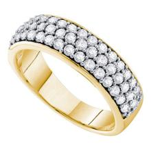 10K Yellow-gold 1.00CTW DIAMOND FASHION BAND #56302v2