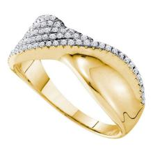 14KT Yellow Gold 0.39CTW DIAMOND FASHION BAND #53572v2