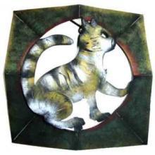 Tabby Cat Octal Screen #12503v3