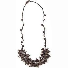 Cloud Forest Necklace in Soft Gray - Faire Collection #87709v2