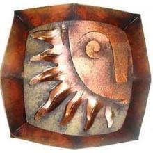 Sun Face Octal Screen, Bronze #12500v3