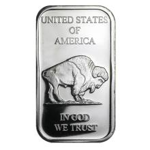 1 oz Silver Bar - American Buffalo #21761v3