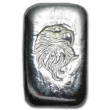 1 oz Silver Bar - Atlantis Mint (Eagle Head) #21820v3