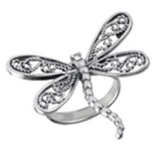 DragonFly Ring STERLING SILVER SIZES 5-10 #18138v3
