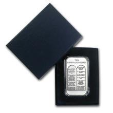 1 oz Silver Bar - Ten Commandments (w/Box & Capsule) #21838v3