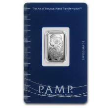 2.5 gram Silver Bar - PAMP Suisse (Fortuna) #21835v3