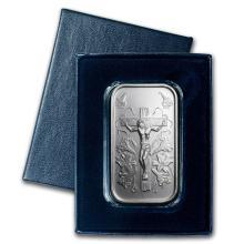 1 oz Silver Bar - Jesus (w/Gift Box & Capsule) #21817v3
