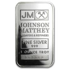 1 oz Silver Bar - Johnson Matthey (Secondary Market) #21841v3
