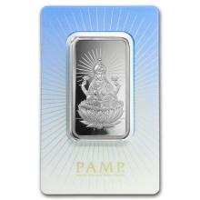 1 oz Silver Bar - PAMP Suisse Religious Series (Lakshmi) #21829v3