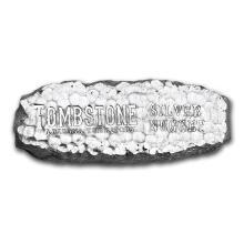 10 oz Silver Bar - Tombstone Silver Nugget #21828v3