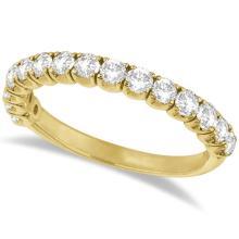 Diamond Wedding Band Anniversary Ring in 14k Yellow Gold (1.00ct) #20786v3