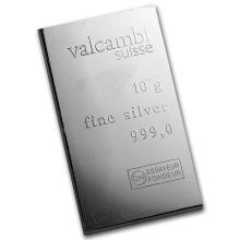10 gram Silver Bar - Secondary Market #21842v3