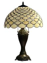 TIFFANY STYLE CHANDELLE TABLE LAMP 25 INCHES #99537v2