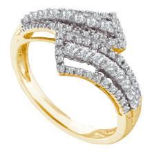 14KT Yellow Gold 0.53CTW DIAMOND FASHION BAND #52979v2