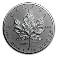 2005 Canada 1 oz Silver Maple Leaf VJ-Day Privy #22001v3