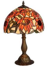 TIFFANY STYLE SUNFLOWER TABLE LAMP #99531v2