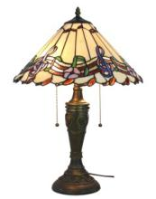 MUSICAL NOTES TIFFANY STYLE TABLE LAMP 24 INCHES TALL #99528v2