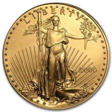 2000 1 oz Gold American Eagle BU #22623v3