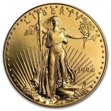 1994 1 oz Gold American Eagle BU #22630v3