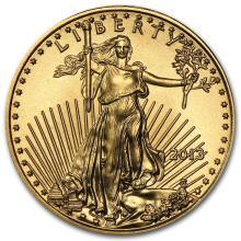 2013 1/10 oz Gold American Eagle BU #22639v3