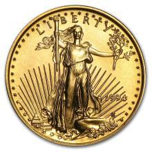 1994 1/10 oz Gold American Eagle BU #22645v3