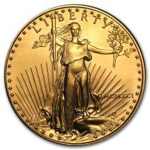 1991 1 oz Gold American Eagle BU (MCMXCI) #22642v3