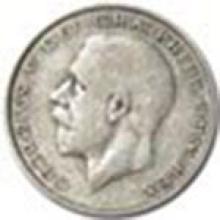 1920-1936 Great Britain Silver Half Crown George V #22336v3