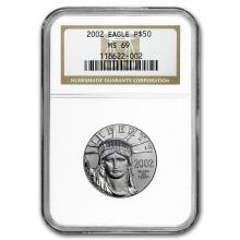 Random Year 1/2 oz Platinum American Eagle MS-69 NGC #31215v3