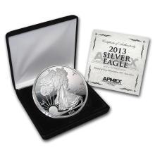 4 oz Silver Round - 2013 Silver Eagle (w/Box & COA) #21713v3