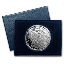 1 oz Silver Round - Tooth Fairy (Box & Capsule) #21682v3