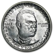 1946-51 P,D or S Booker T. Washington Half AU/BU #31109v3