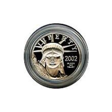 Platinum American Eagle Proof Quarter Ounce Capsule Only #28547v3