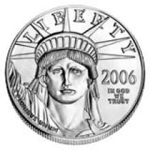 Platinum American Eagle One Ounce (dates our choice) #28542v3