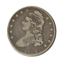 Early Type Capped Bust Half Dollar 1807-1836 G-VG #28618v3