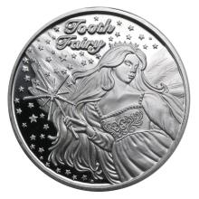 1 oz Silver Round - Tooth Fairy #21690v3