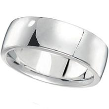 Men's Wedding Band Low Dome Comfort-Fit in Palladium (7 mm) #21092v3