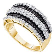 10K Yellow-gold 0.82CTW DIAMOND FASHION BAND #68399v2