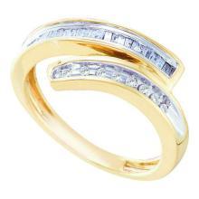 10K Yellow-gold 0.27CT DIAMOND FASHION BAND #63868v2