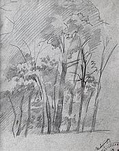 László Mednyánszky (Hungarian, 1852-1919), Park