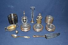 Collection of miscellaneous silver and other objects