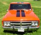"1971 GMC truck street rod, 402 V8, 400 turbo trans, 12 bolt rear, 12"" cab extension, stepside bed with tonneau"
