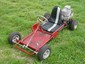 Red go cart with B&S 5hp engine