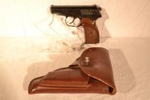 German Makarov pistol, 9 x 18mm semi-automatic pistol, s#BS4628, holster, import