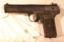 1950 Skeletonized Poland Tokarev TTC 7.62x25mm semi-automatic pistol, s#205, no registration
